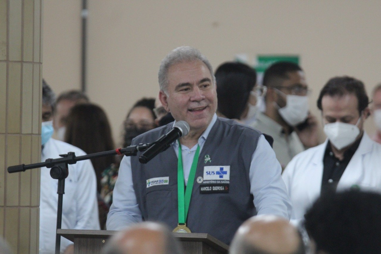 Queiroga discursa em solenidade da Ufpi (Foto: Raissa Morais)