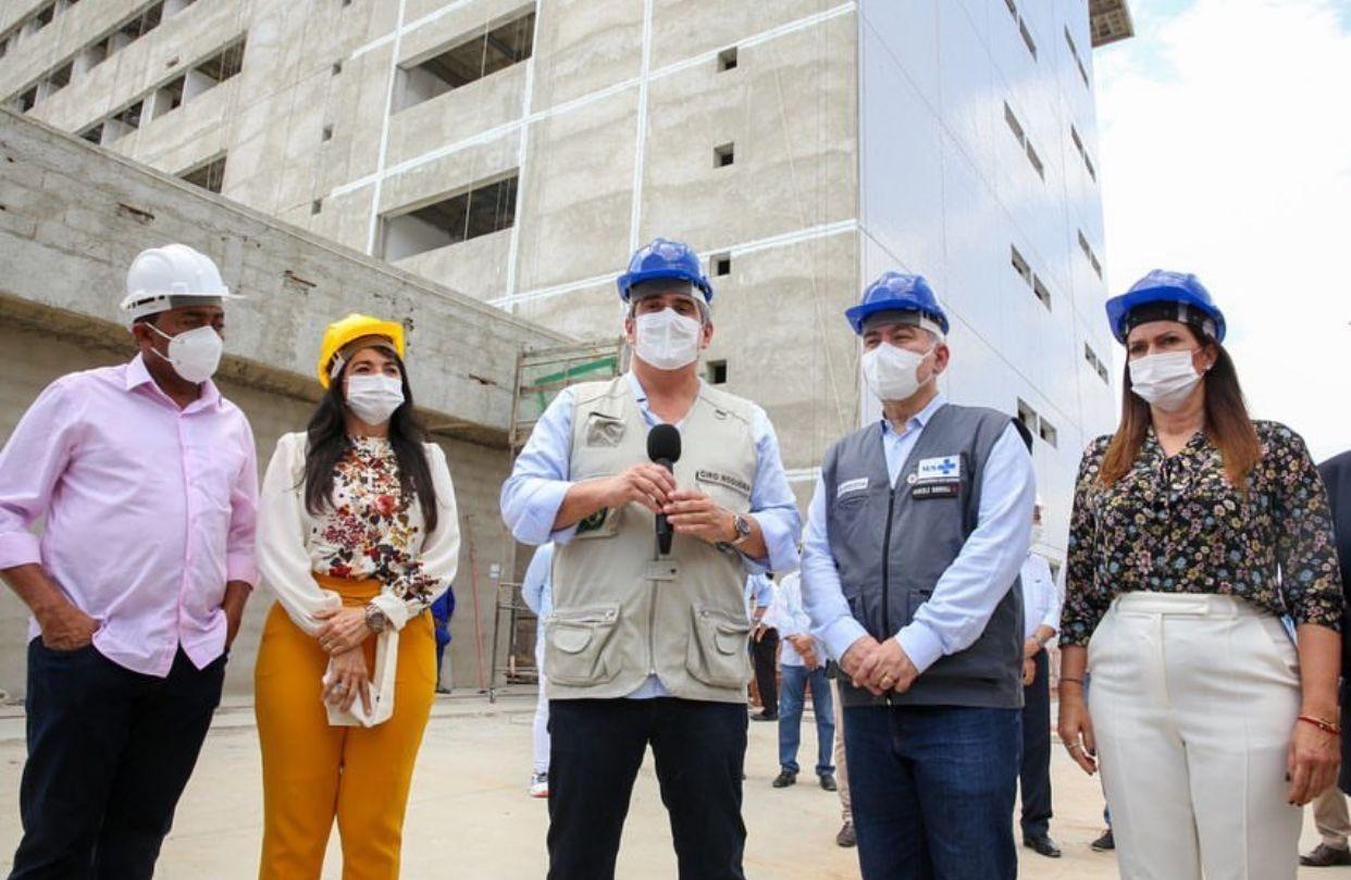 Ministro da Casa Civil, Ciro Nogueira, acompanha Queiroga em visita a Teresina