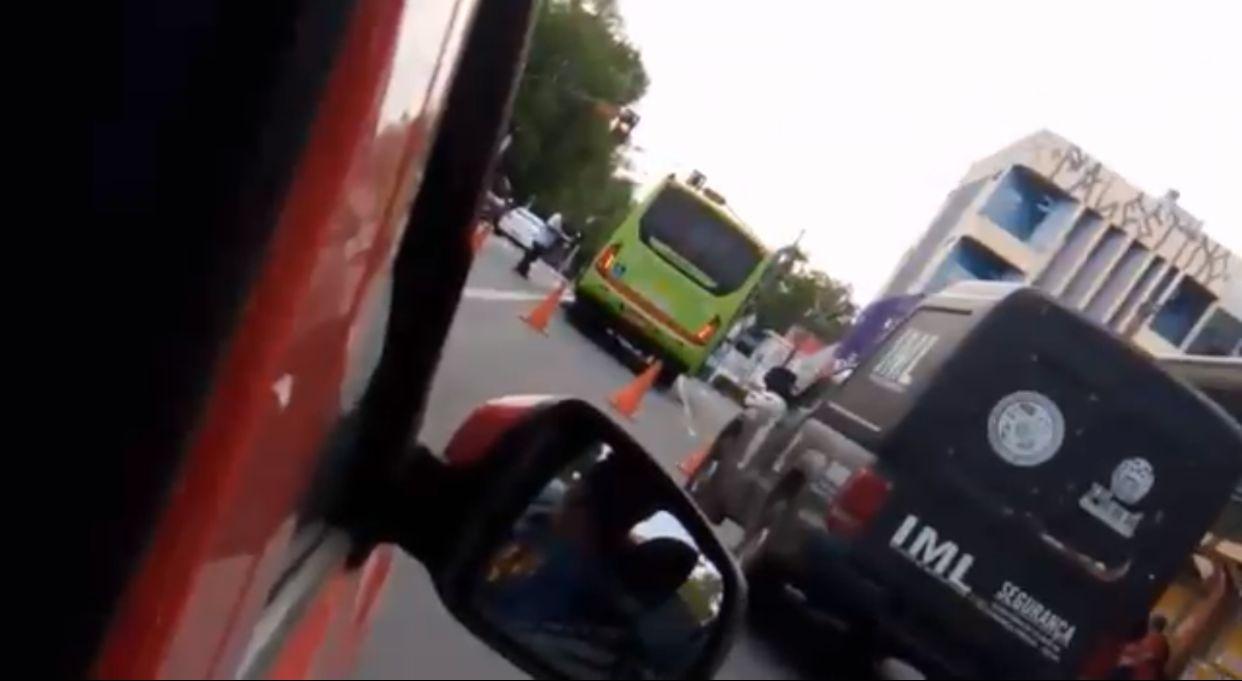 Homem foi morto atropelado por ônibus no Centro de Teresina