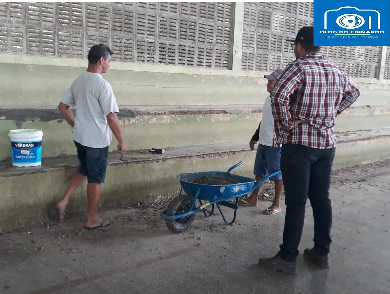 Milton Brandão: Poliesportivo depredado passa por reforma na gestão de Evangelista Resende  - Imagem 6
