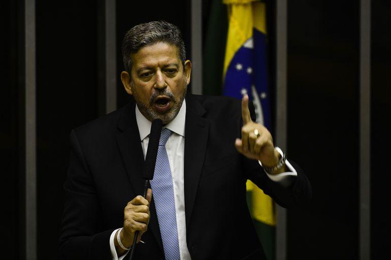 Arthur Lira discursa na Câmara dos Deputados Foto: Marcelo Camargo-Agência Brasil