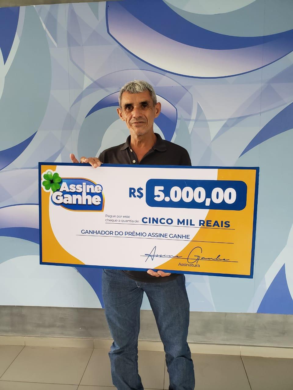 Assine Ganhe:130º sorteado recebe prêmio de R$5 mil na Rede Meio Norte - Imagem 1