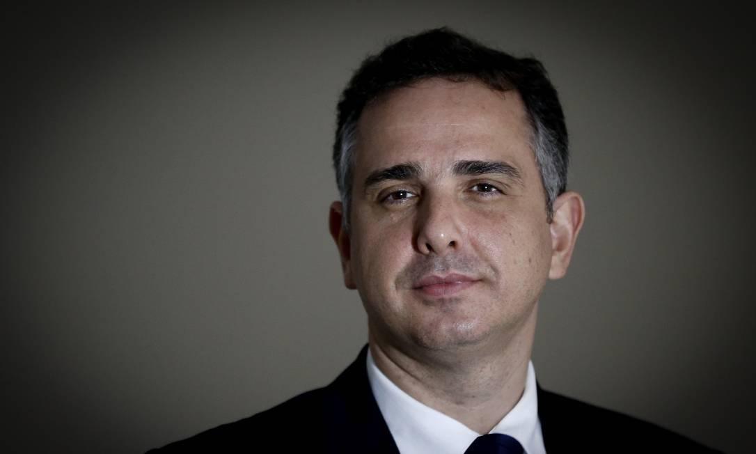 Rodrigo Pacheco é eleito novo presidente do Senado Pablo Jacob / Agência O Globo