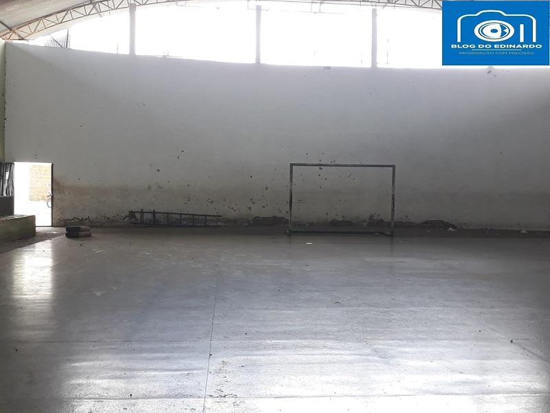 Milton Brandão: Poliesportivo depredado passa por reforma na gestão de Evangelista Resende  - Imagem 15