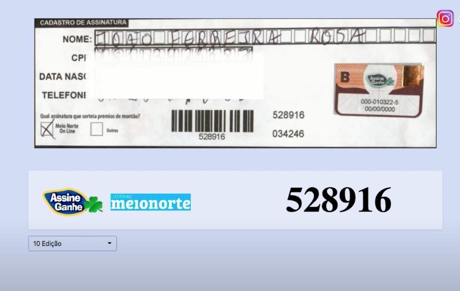 Assine Ganhe: 130° sorteado ganha R$ 5.000,00 e receberá prêmio na MN - Imagem 2