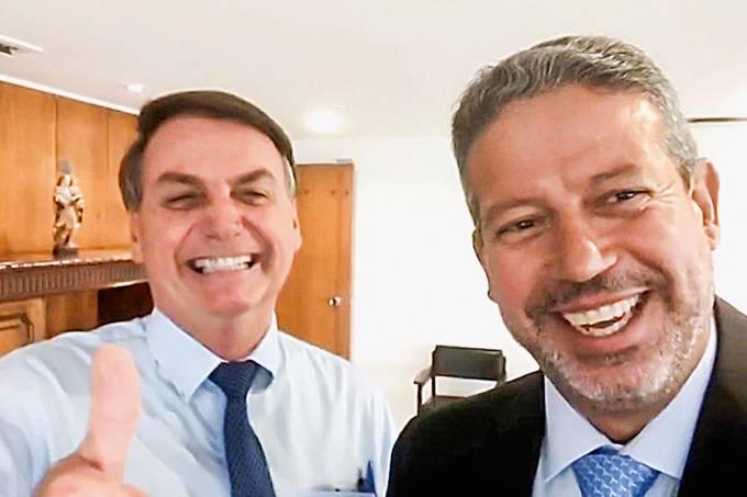 Arthur Lira recebeu o apoio de Jair Bolsonaro