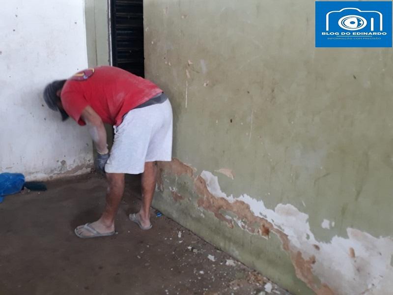 Milton Brandão: Poliesportivo depredado passa por reforma na gestão de Evangelista Resende  - Imagem 16