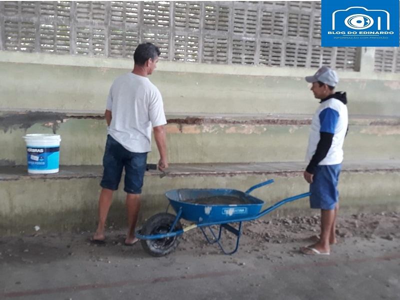 Milton Brandão: Poliesportivo depredado passa por reforma na gestão de Evangelista Resende  - Imagem 13