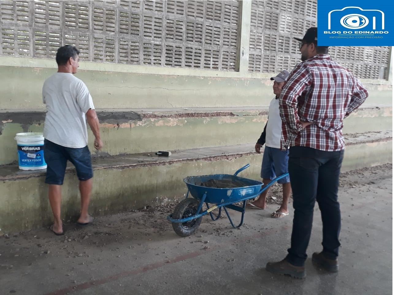 Milton Brandão: Poliesportivo depredado passa por reforma na gestão de Evangelista Resende  - Imagem 12