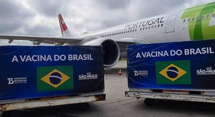 Insumos já chegaram a sede do Butantan- Foto: Governo de São Paulo