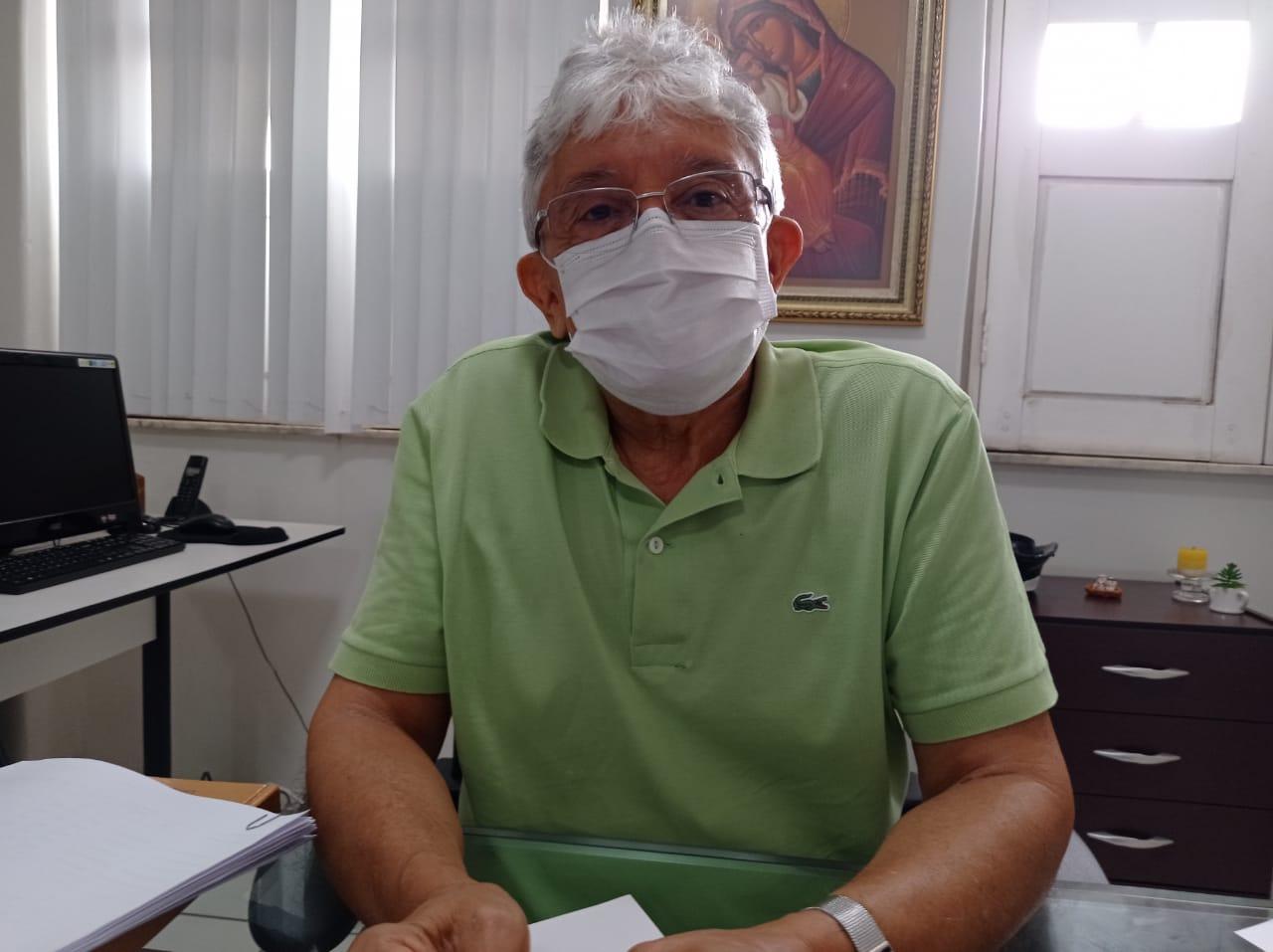 O monsenhor Tony Batista, da Ação Social Arquidiocesana (ASA)- Foto: Efrém Ribeiro