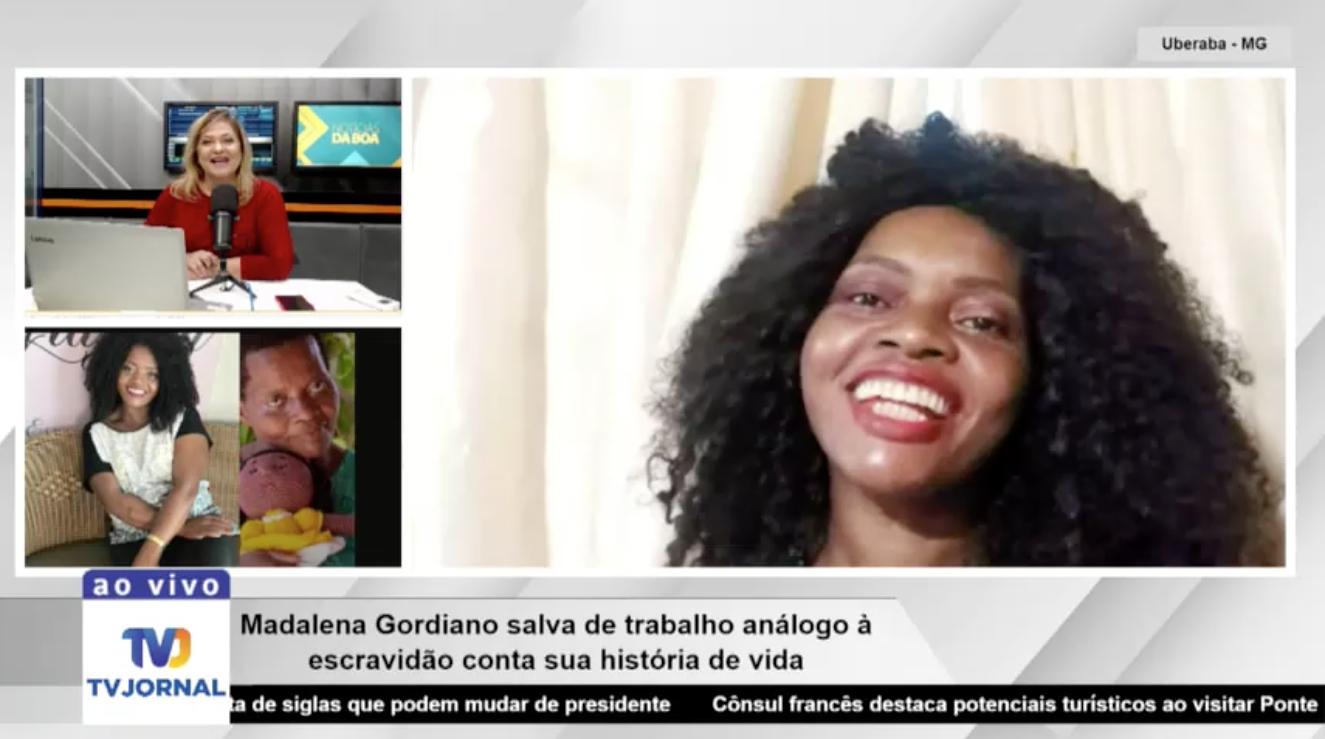 Madalena concede entrevista ao programa Notícias da Boas e fala sobre transformaçao