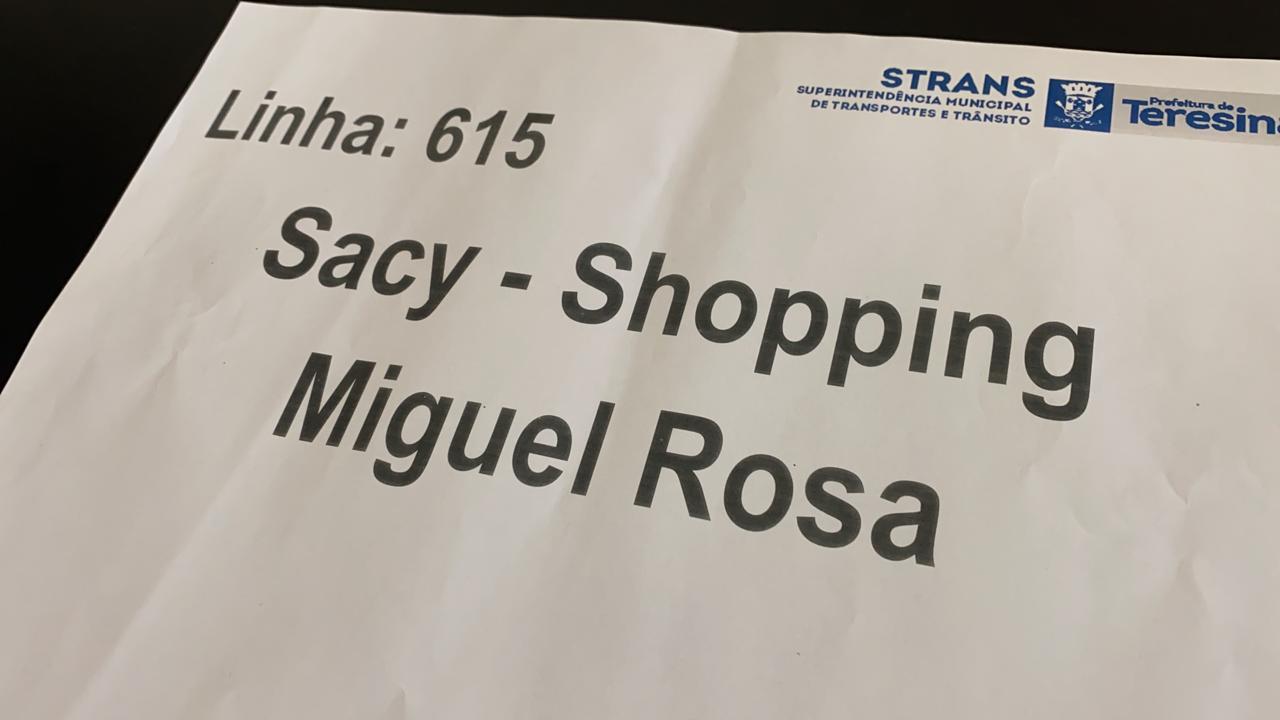 Foto - Divulgação/ Strans