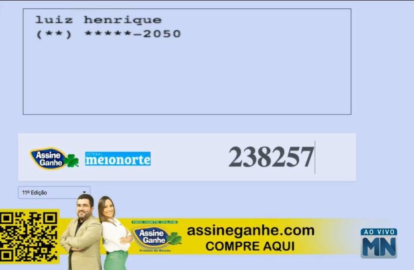 Assine Ganhe: 145º assinante é sorteado; premiação ultrapassa 500 mil - Imagem 2