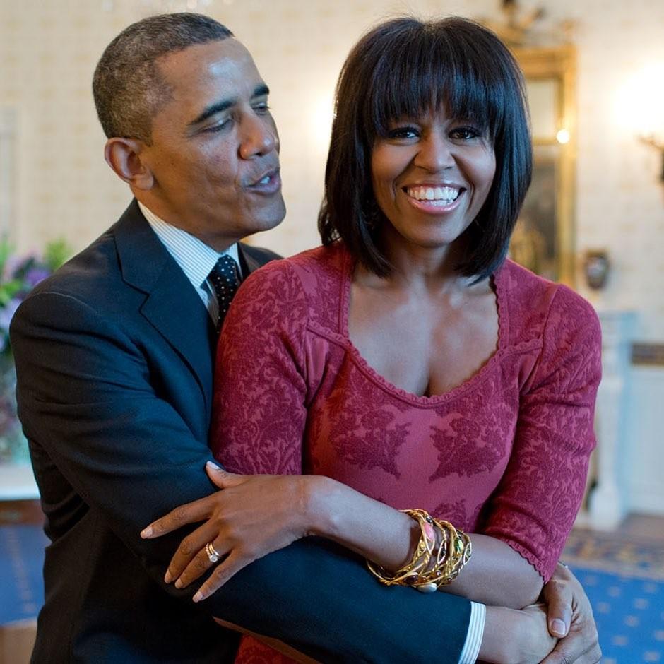 Barack Obama e Michelle (Foto: Instagram)
