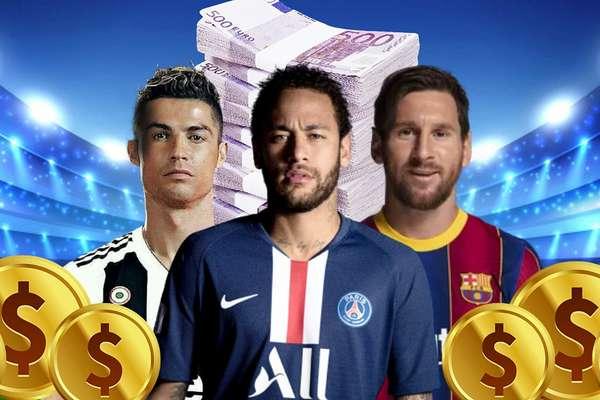 CR7, Neymar e Messi: ganhos com posts crescem a cada ano e influenciam milhões de consumidores on-line (Foto: Fotomontagem: Blog Sala de TV)