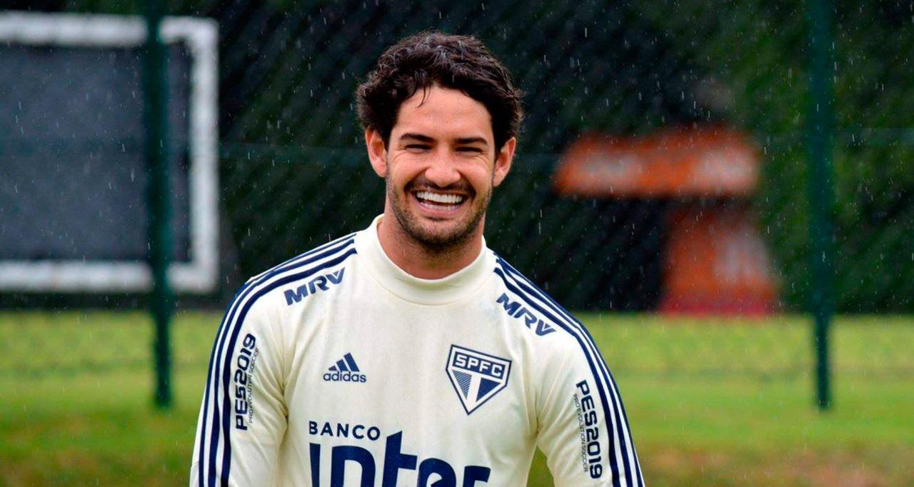 Alexandre Pato no São Paulo - Reprodução