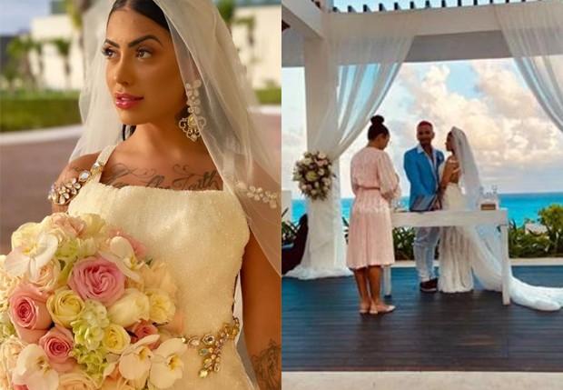 MC Mirella e Dynho Alves se casam (Foto: Reprodução/Instagram)
