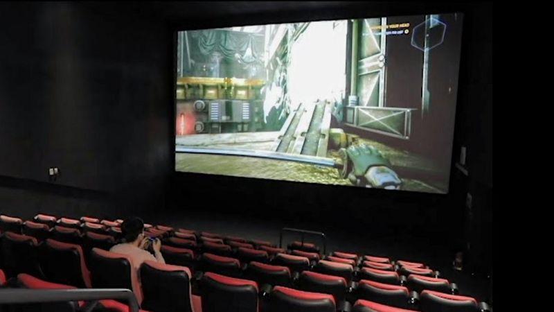 Sala de cinema (Foto: BBC)