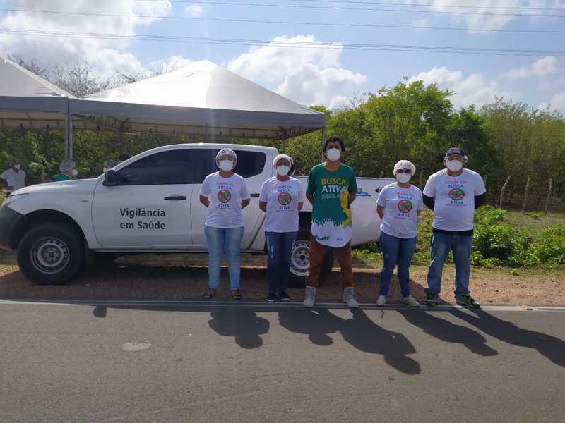 Barreiras Sanitárias reforçam enfrentamento a pandemia no Piauí