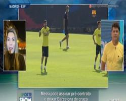 Messi pode assinar pré-contrato e deixar Barcelona de graça