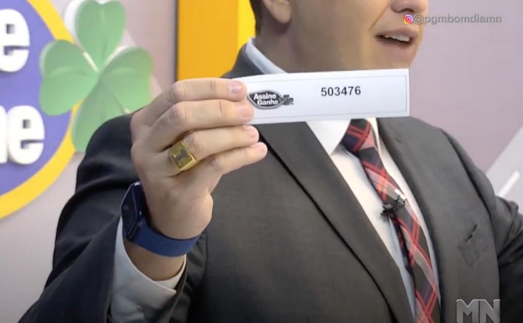 Assine Ganhe: 150º assinante é sorteado; premiação ultrapassa 500 mil - Imagem 1