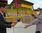 Cinegrafista grava assalto a repórter por homem armado no Equador
