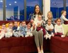 Jovem de 23 anos tem 11 filhos e pretende ter mais
