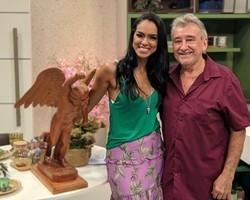 Mestre Dico fala sobre arte santeira tradicional no Piauí