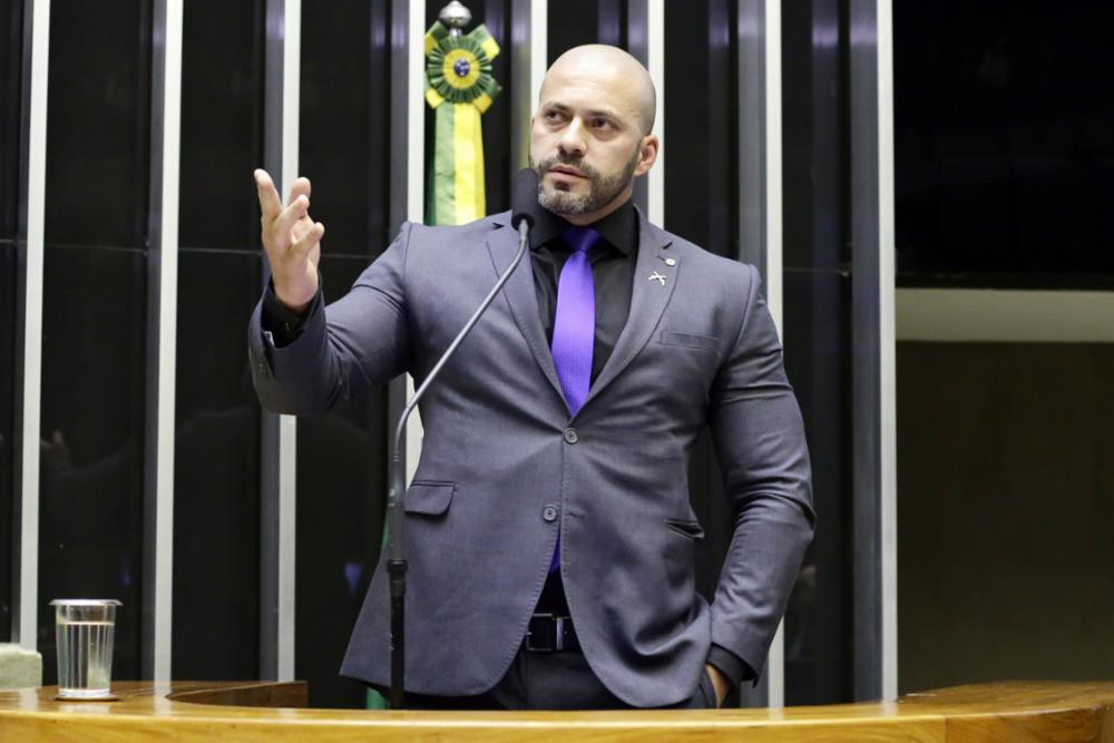 Deputado Daniel Silveira foi preso