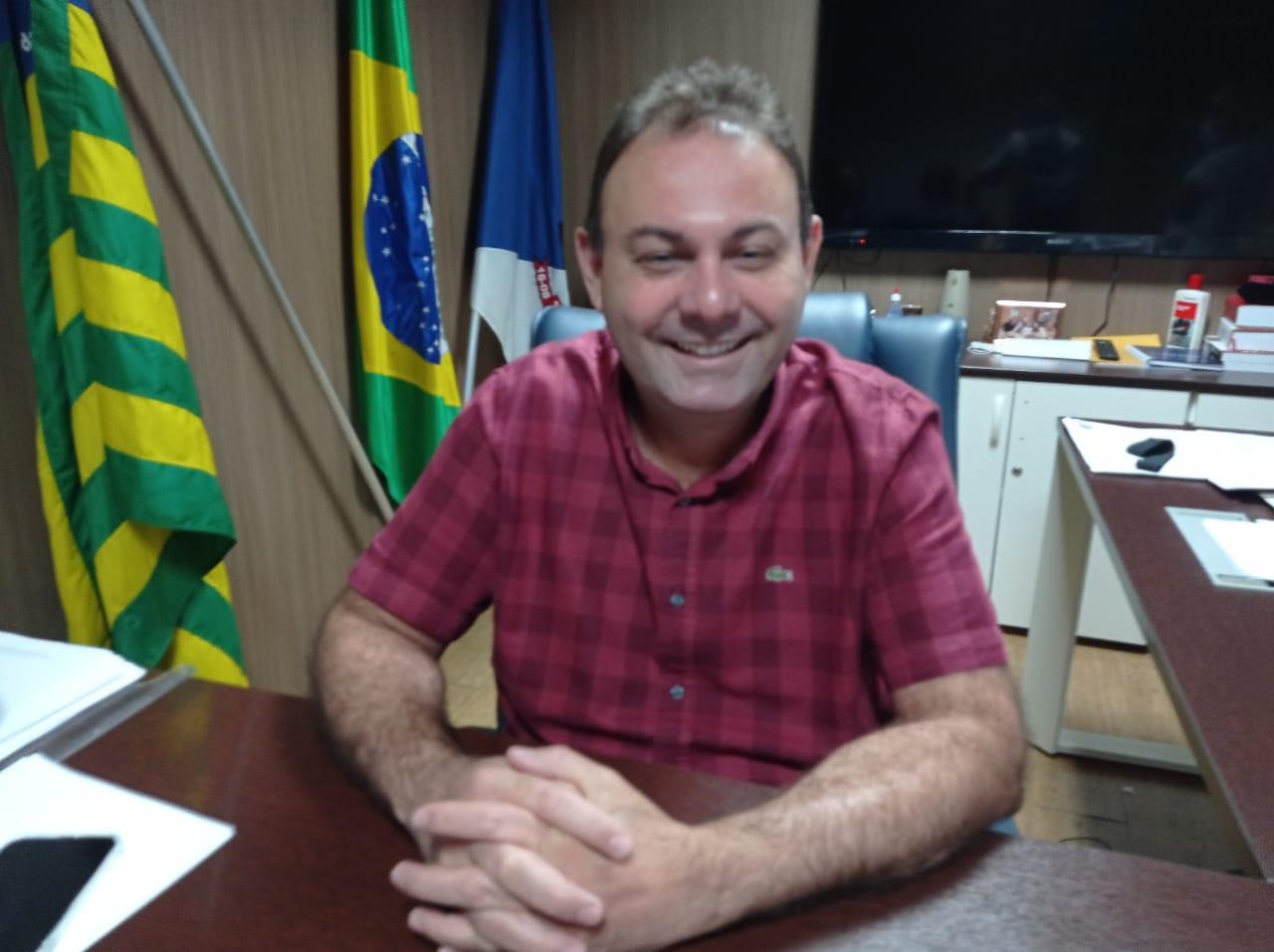 O presidente da Câmara dos Vereadores de Teresina, Jeová Alencar. Foto: Efrém Ribeiro