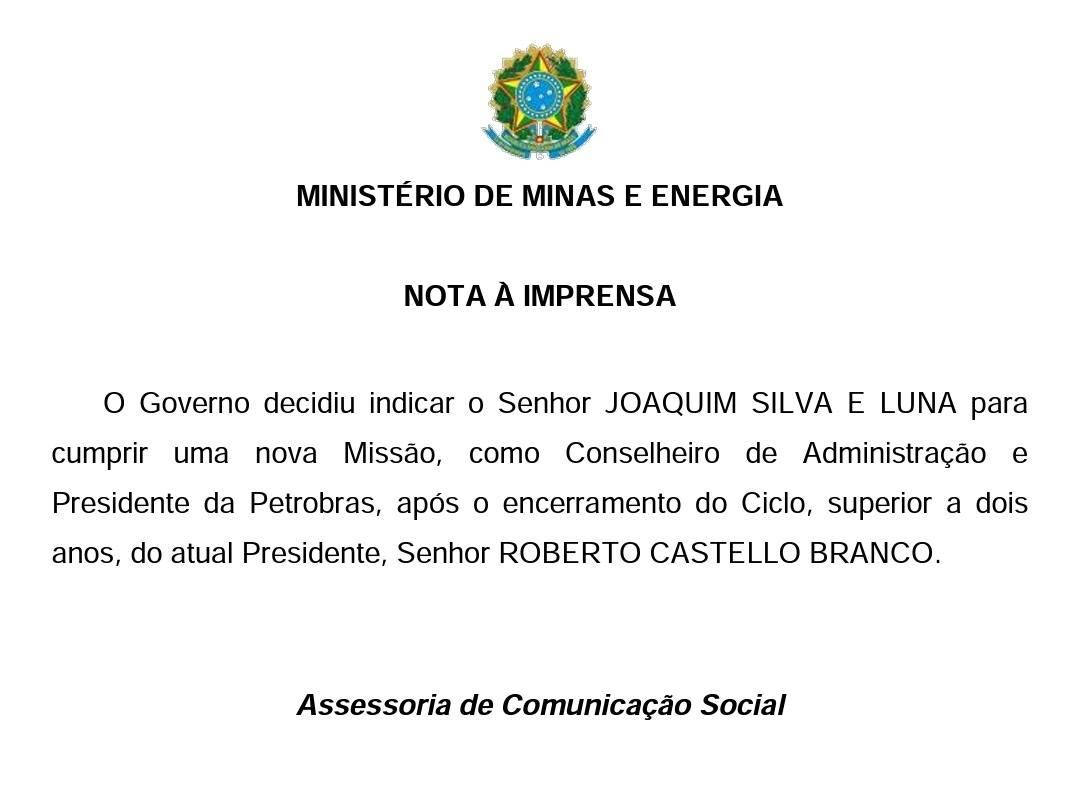 General Joaquim Silva e Luna é o novo presidente da Petrobras - Imagem 2