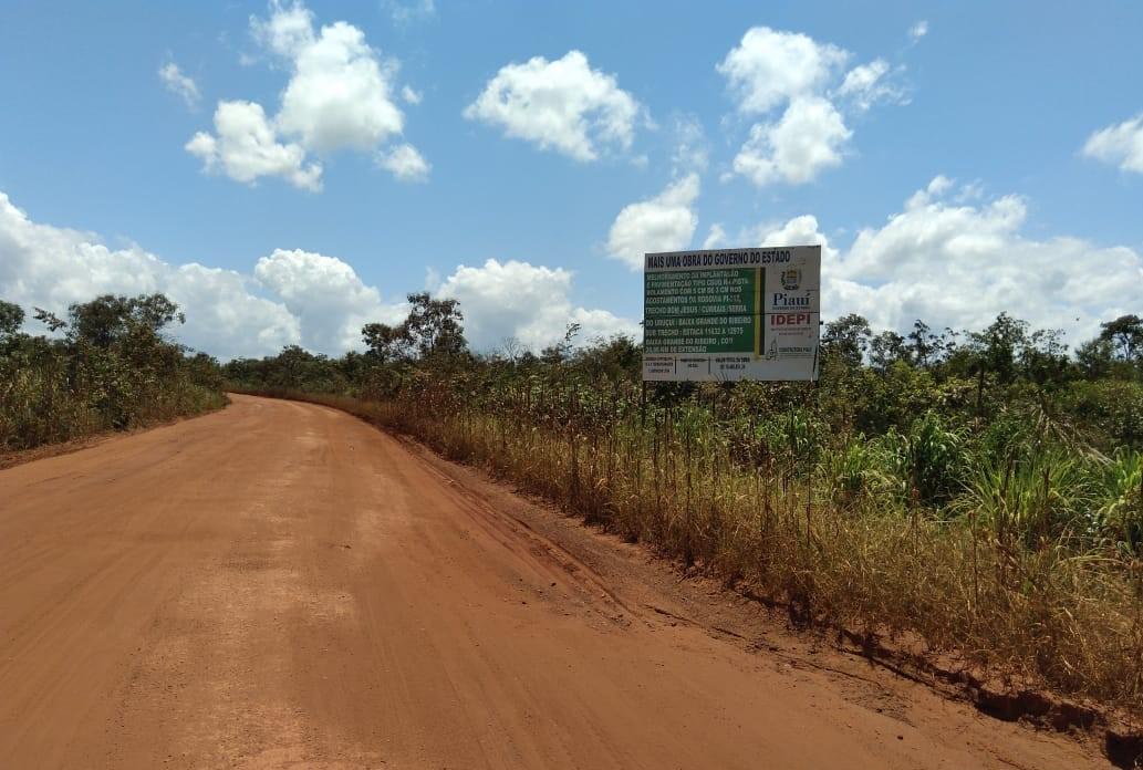 PI-392- rodovia da soja é uma das mais importantes para o escoamento de grãos no Piauí