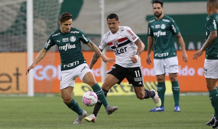 São Paulo x Palmeiras duelam hoje pela 34ª rodada do Brasileirão- Foto: Cesar Greco/Palmeiras