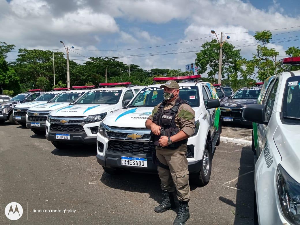 Prefeito João Luiz recebe viatura policial okm para Monsenhor Gil - Imagem 6