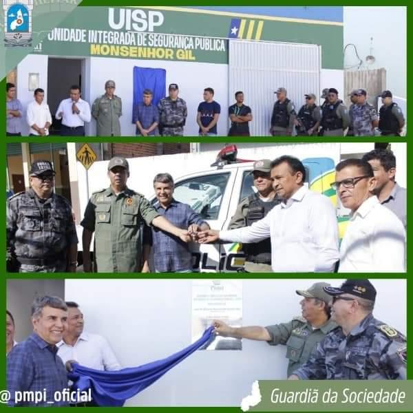 Prefeito João Luiz recebe viatura policial okm para Monsenhor Gil - Imagem 11