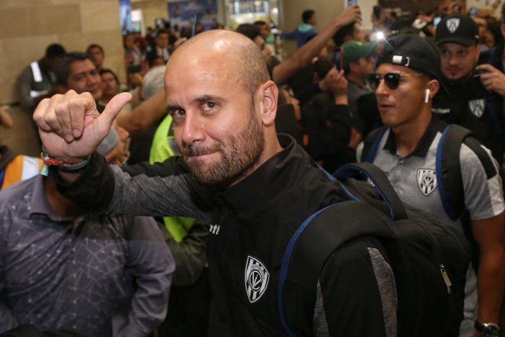 Miguel Ángel Ramírez é nome aprovado no São Paulo, mas tem acerto verbal com o Internacional — Foto: Cristina Vega Rhor / AFP