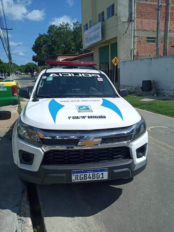 Prefeito João Luiz recebe viatura policial okm para Monsenhor Gil - Imagem 4