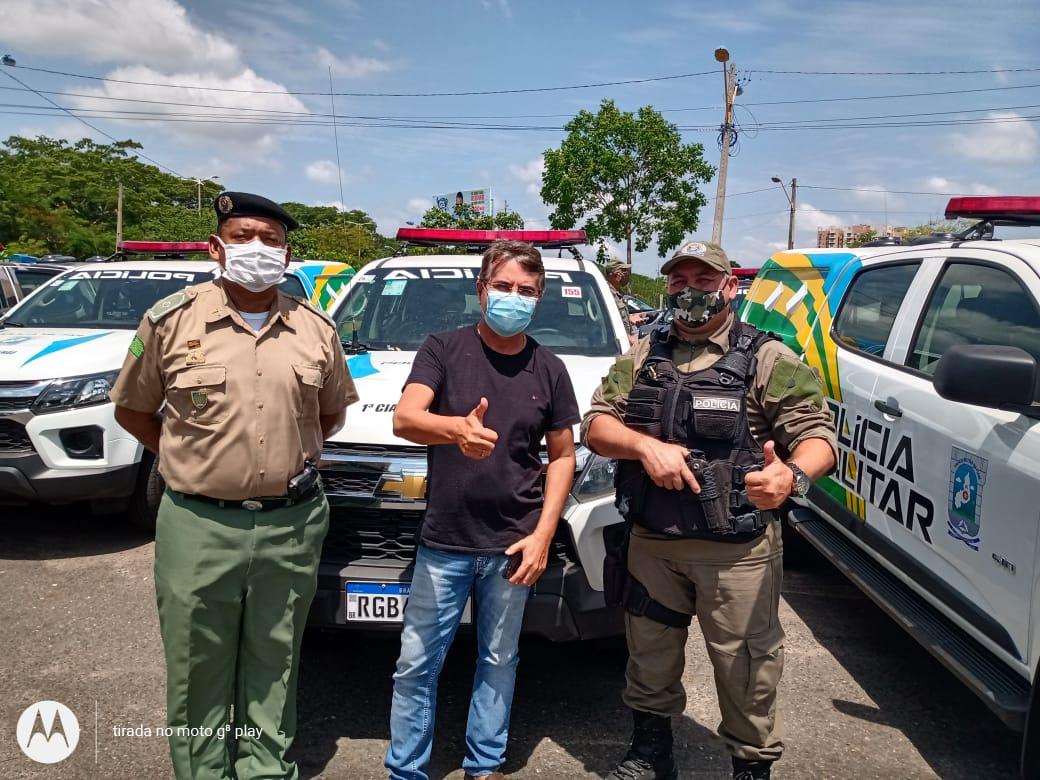 Prefeito João Luiz recebe viatura policial okm para Monsenhor Gil - Imagem 8
