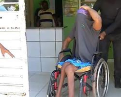 Cadeirante e comparsa são presos acusados de tráfico de drogas em Teresina