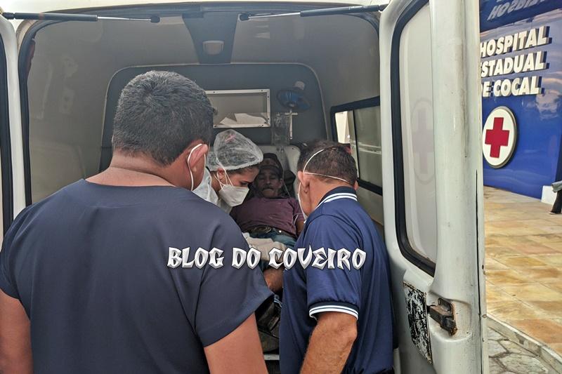 Colisão entre moto e caminhão deixa idoso com perna fraturada em Cocal - Imagem 2