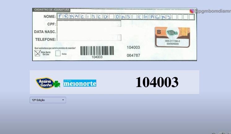 Assine Ganhe: 156º assinante é sorteado com R$ 5.000,00; assista! - Imagem 1
