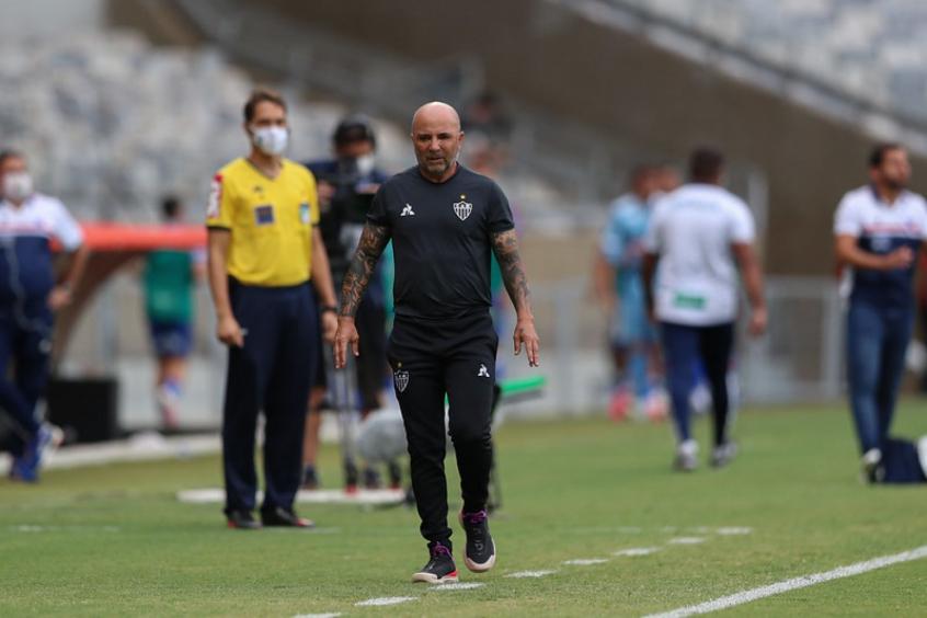 Sampaoli confirma saída do Galo e está a caminho do Olympique-FRA- Foto: Pedro Souza/Atlético-MG