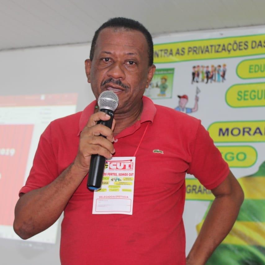 Ajuri Dias, presidente do Sintetro (Reprodução/ Facebook)