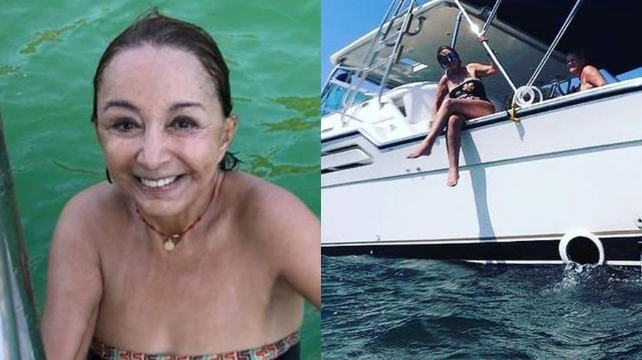 """Aos 70 anos, Chiquinha de """"Chaves"""" curte mergulho em mar de Acapulco - Imagem 1"""