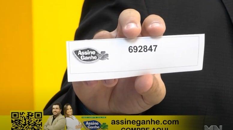 Assine Ganhe: 161º assinante é sorteado; premiação ultrapassa 500 mil - Imagem 2
