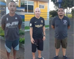 Polícia divulga fotos de estrangeiros que roubaram joalheria de shopping de Teresina