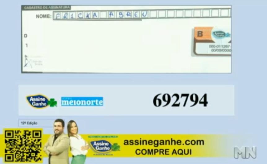Ericka Abreu foi a 163ª contemplada