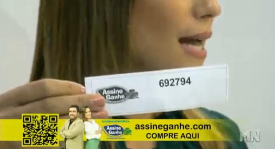 Assine Ganhe realiza o 163º sorteio