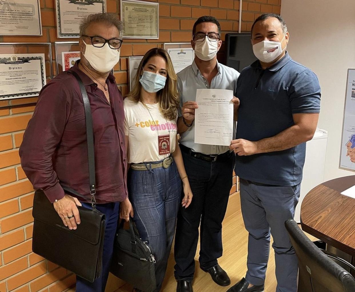 Oficiais de Justiça pedem a Evaldo Gomes que categoria receba vacina - Imagem 1